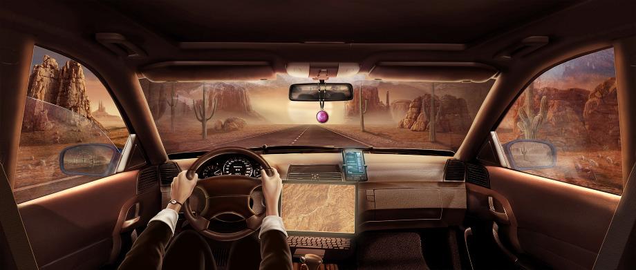 Game Scene Car Interior Albertofeliciano