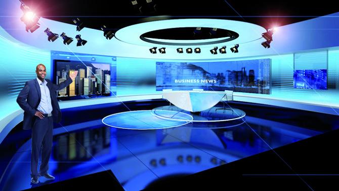 CCTV News Studio Design China