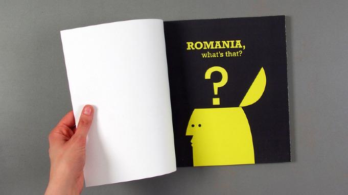 Book Design - Romania, what's that? - Mihaela Ana Comsa - Design ...